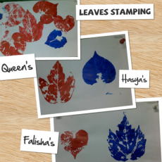 Muzy-Leaves Painting
